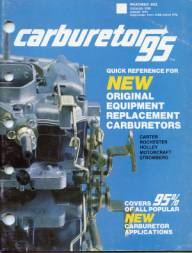 THE CARBURETOR SHOP / Literature for sale