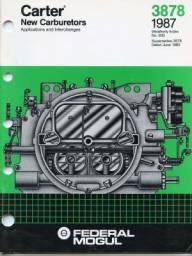 the carburetor shop literature for sale rh thecarburetorshop com carter yf carburetor manual pdf Carter YF Replacement Carb