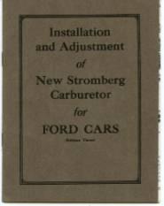 THE CARBURETOR SHOP / Stromberg Literature for sale