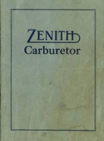 THE CARBURETOR SHOP / Zenith Literature for sale