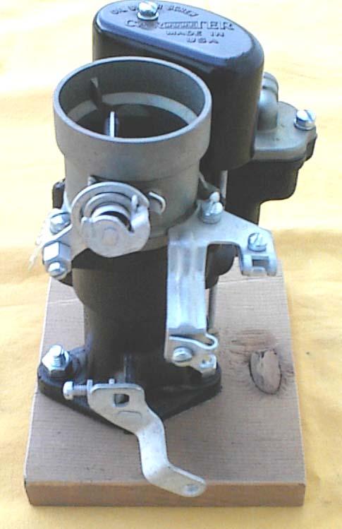 THE CARBURETOR SHOP / Carter Chevrolet W-1 carburetors